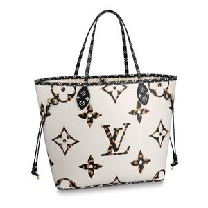Louis Vuitton Neverfull MM Jungle Collection